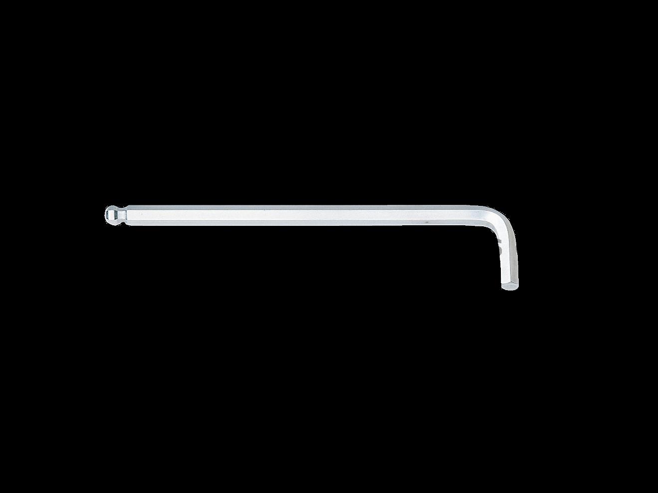 ประแจ  ยาว ชุบขาว ปลายบอลล์ 185 มม 6 HLD250-6